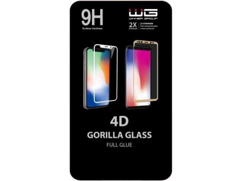 Winner Tvrzené 4D sklo Huawei P30 PRO černé 8591194090516