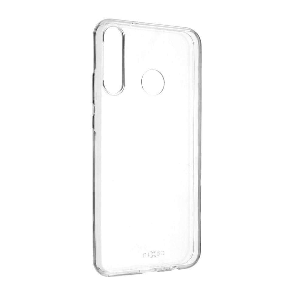FIXED Ultratenké TPU gelové pouzdro Skin pro Huawei P40 Lite e, 0,6 mm FIXTCS-509, čiré