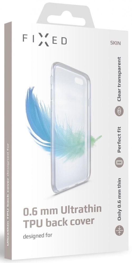 FIXED Ultratenké TPU gelové pouzdro Skin pro Huawei Y6p, 0,6 mm FIXTCS-551, čiré