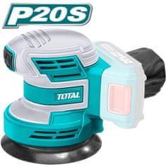 Total One-Stop Tools Bruska excentrická AKU, 125mm, 20V Li-ion, 2000mAh, industrial - bez baterie a nabíječky