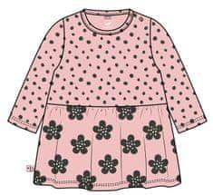 Boboli dievčenské šaty ORGANIC 56 ružová