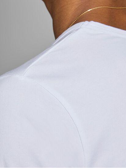 Jack&Jones Férfi póló JJEBASIC V-NECK TEE 12059219 OPT WHITE