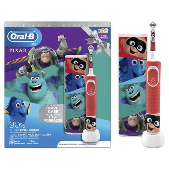 Oral-B otroška zobna ščetka Vitality Kids Pixar + potovalni etui