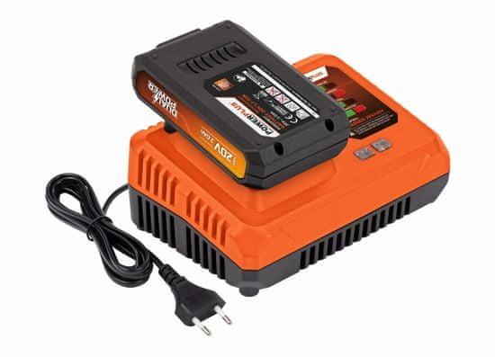 PowerPlus POWDP9062 - Nabíječka 20V/40V plus Baterie 20V LI-ION 2,0Ah