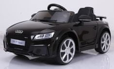 Eljet Detské elektrické auto Audi RS TT čierna