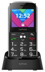 myPhone Halo C, černý