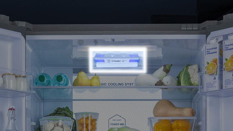 Americká lednice Haier HTF-610DSN7 Antibakteriální technologie ABT