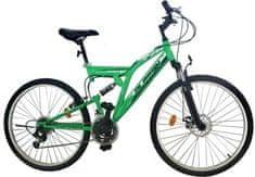 "Olpran rower górski Laser Disc 26"" black/green"