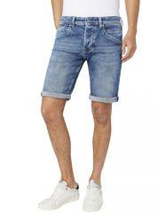 Pepe Jeans pánské šortky Track Short PM800487NA7 30 modrá