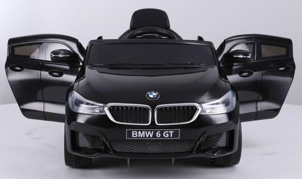 Eljet Dětské elektrické auto BMW 6GT černá