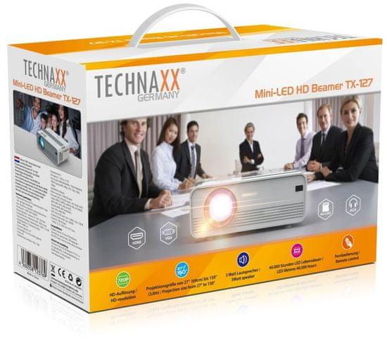 Technaxx Mini-LED HD Beamer (TX-127)