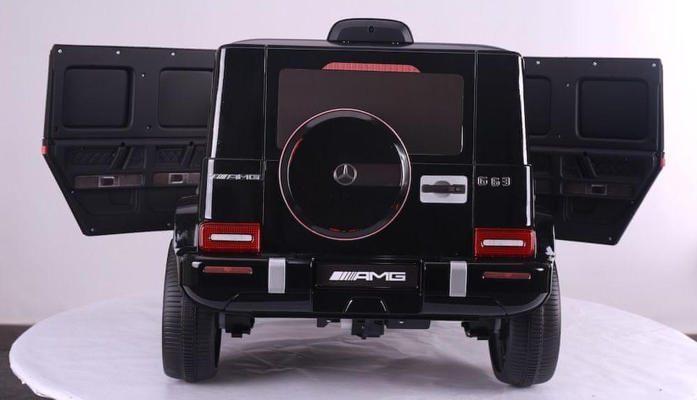 Eljet Dětské elektrické auto Mercedes G63 AMG černá