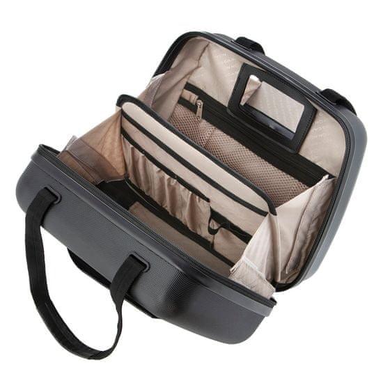 CARRY ON Kozmetický kufrík Skyhopper Black Beautycase