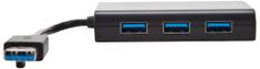 Targus Rozbočovač 3× SuperSpeed USB 3.0 + 1×10/100/1000 ACH122EUZ