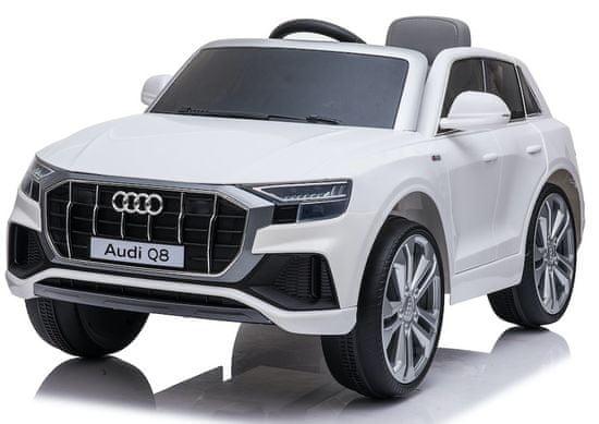 Eljet Detské elektrické auto Audi Q8 biela