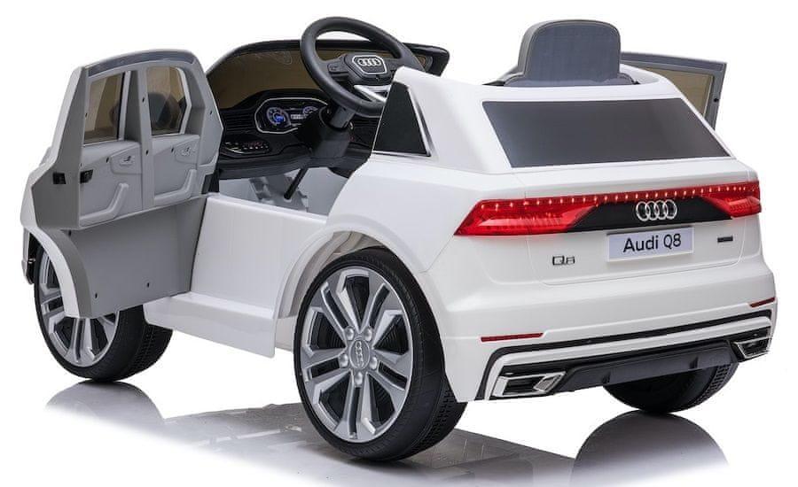 Eljet Dětské elektrické auto Audi Q8 bílá