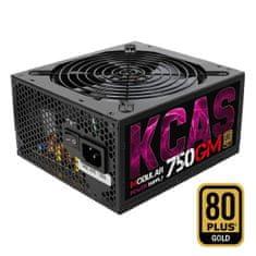 Aerocool KCAS 750GM napajalnik, 750W, RGB, delno modularen