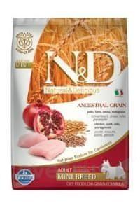N&D LG DOG Adult Mini Chicken & Pomegranate 7 kg
