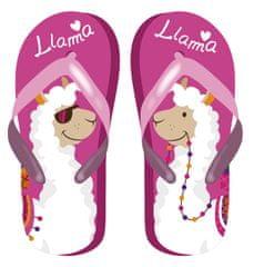 Disney Llama ZK50704_fuchsia lány flip-flop papucs, 32, rózsaszín