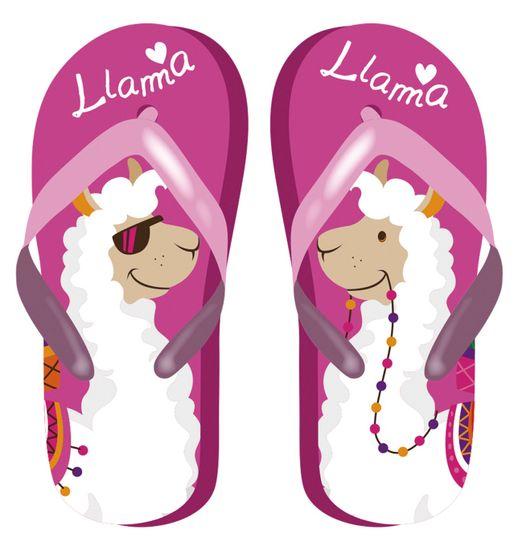 Disney Llama Zk50704_fuchsia dekliške japonke