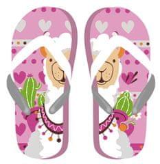 Disney Llama ZK50704_pink lány flip-flop papucs, 32, rózsaszín