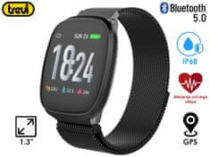 Trevi T-FIT 260 sportski sat, Bluetooth 5.0, crna