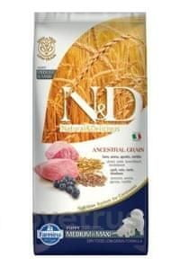 N&D LG DOG Puppy M/L Lamb & Blueberry 12 kg