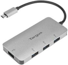 Targus USB-C to 4-Port USB-A Hub Rozbočovač 4× SuperSpeed USB 3.0 Desktop ACH226EU