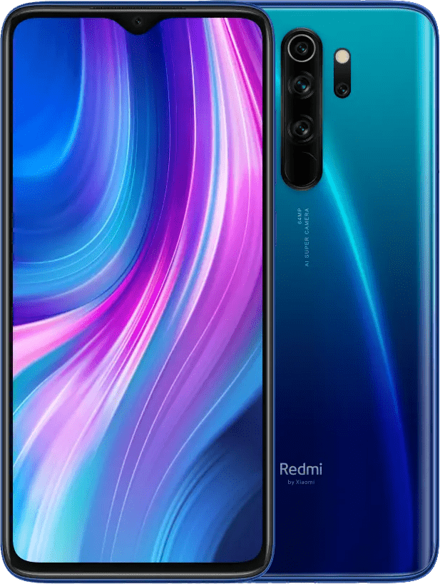 Xiaomi Redmi Note 8 Pro, 6GB/64GB, Global Version, Blue