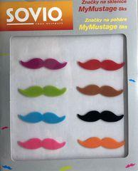SOVIO značky na sklenice MyMustage 8ks