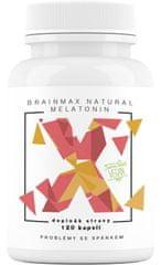 BrainMax Natural Melatonin 120kapsúl