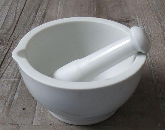 Marex Trade Porcelánový hmoždíř Ø 14,5 cm, bílý