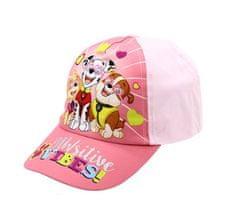 """SETINO Dziewczęca czapka z daszkiem """"Psi Patrol"""" VIBE SITIVE - jasnoróżowy - 54 cm"""