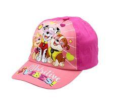 """SETINO Dziewczęca czapka z daszkiem """"Psi Patrol"""" VIBE SITIVE - ciemno różowy - 54 cm"""