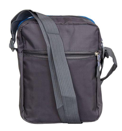 REAbags Taška přes rameno REAbags LL22 - šedá/zelená