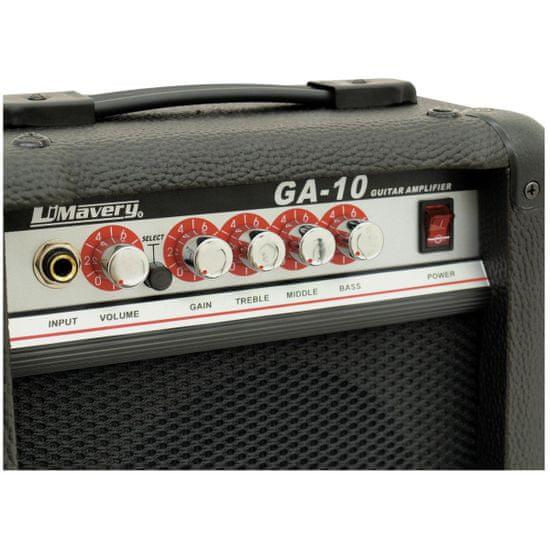 Dimavery GA-10, kombo pro elektrickou kytaru, 10W