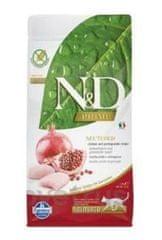 N&D PRIME CAT Neutered Chicken&Pomegranate 10 kg