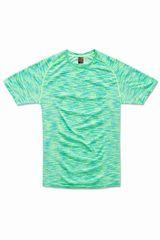 Stedman Pánské funkční tričko Active Seamless Raglan, Kiwi Melange M