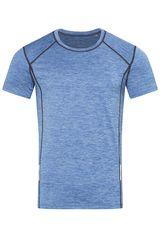 Stedman Pánské sportovní tričko Recycled Sports-T Reflect, Blue Heather XXL