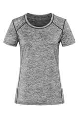 Stedman Dámské sportovní tričko Recycled Sports-T Reflect, Grey Heather XL