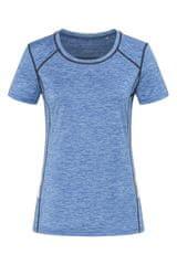 Stedman Dámské sportovní tričko Recycled Sports-T Reflect, Blue Heather M