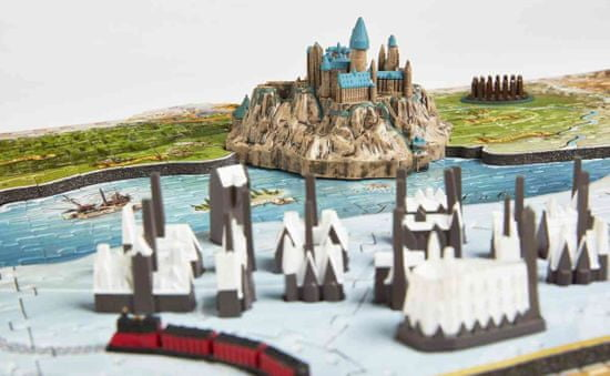 4D Cityscape Harry Potter