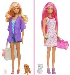 Mattel Barbie Color Reveal Barbie z živaljo