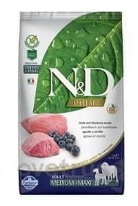 N&D PRIME DOG Adult M/L Lamb & Blueberry 2,5 kg