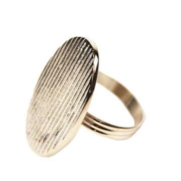 Domedeco Srebrny pierścionek na serwetki tekstylne