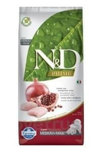 N&D PRIME DOG Puppy M/L Chicken & Pomegranate 12 kg