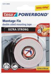 """Tesa Lepiaca páska """"Powerbond 55791"""", obojstranná, extra silná, 19 mm x 1,5m"""