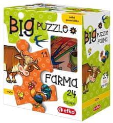 Efko Puzzle BIG Farma BABY