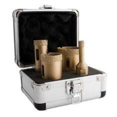 MAGG Diamantové vykružovací korunky , korunkové vrtáky sada 4ks, 10-50mm, závit M14 obklady