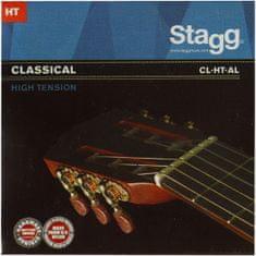 Stagg CL-HT-AL, sada strún pre klasickú gitaru, vysoké pnutie